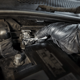 "1/4"" Drive, Fixed Head Ratchet 76mm (3"")"