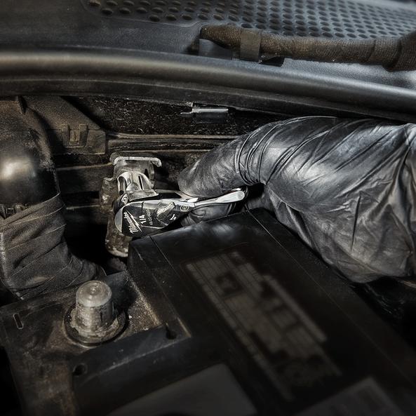 """1/4"""" Drive, Fixed Head Ratchet 76mm (3""""), , hi-res"""