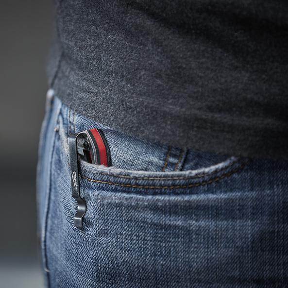 """3.5"""" HARDLINE™ Smooth Blade Pocket Knife"""