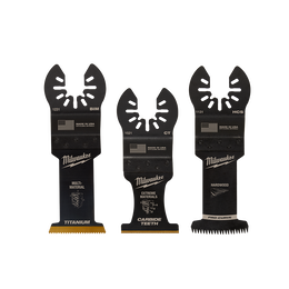 OPEN-LOK™ 3PC All Purpose Multi-Tool Blade Variety Pack Blades