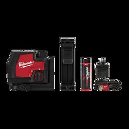 REDLITHIUM™ USB Rechargeable Cross Line Laser Kit