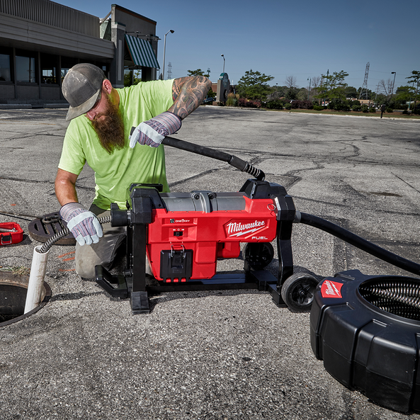 M18 FUEL™ Sectional Sewer Machine w/ ONE-KEY™, , hi-res