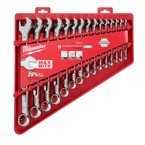 15pc Combination Wrench Set - Imperial