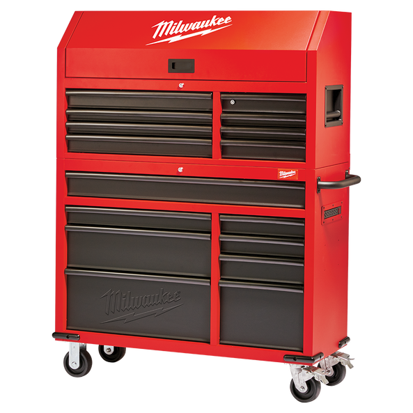 "46"" Rolling Steel Storage Chest and Cabinet"