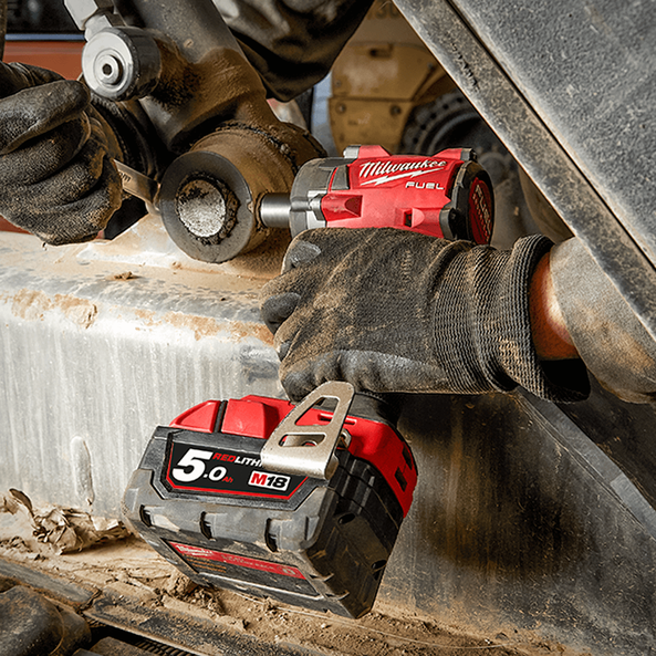 """M18 FUEL™ 1/2"""" Compact Impact Wrench with Friction Ring (Tool Only), , hi-res"""