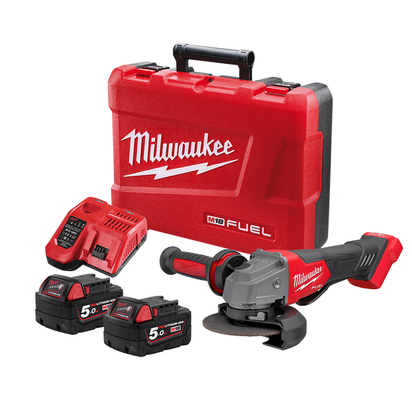 """M18 FUEL™ 125 mm (5"""") Angle Grinder with Deadman Paddle Switch Kit, , hi-res"""