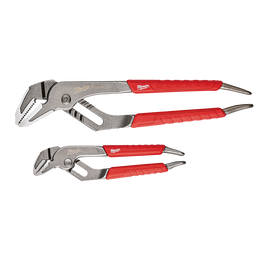 "152mm (6"") & 254mm (10"") Straight Jaw Pliers Set"