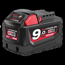 M18™ REDLITHIUM™-ION HIGH DEMAND™ 9.0Ah Battery Pack