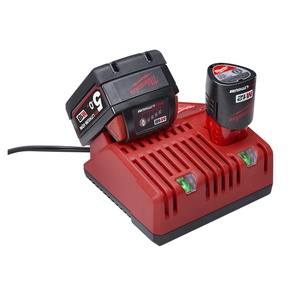 M18™%20%26%20M12™ Multi-Voltage Charger