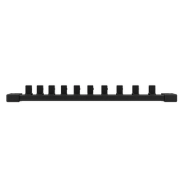 "3/8"" Drive, 10 piece Deep Metric Socket Set with Storage Rail"