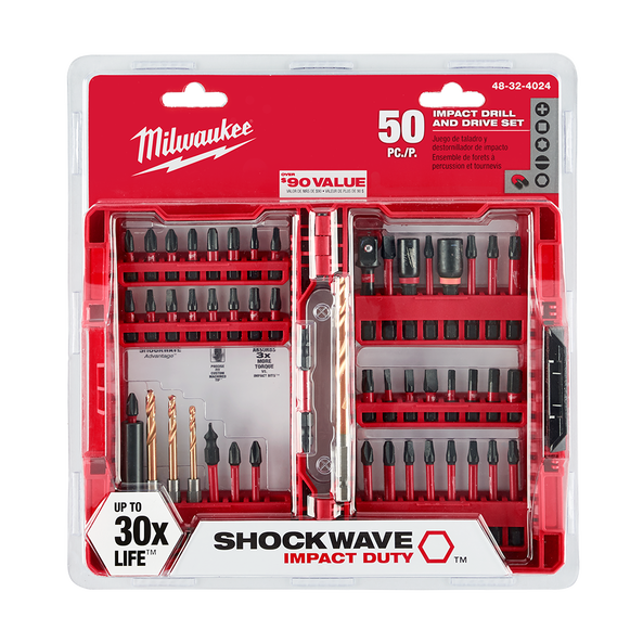 SHOCKWAVE™ Impact Driver Set 50 Pc