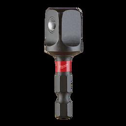 "SHOCKWAVE™ Power Bit Socket Adapter 1/4"" Hex to 1/2"" Square"