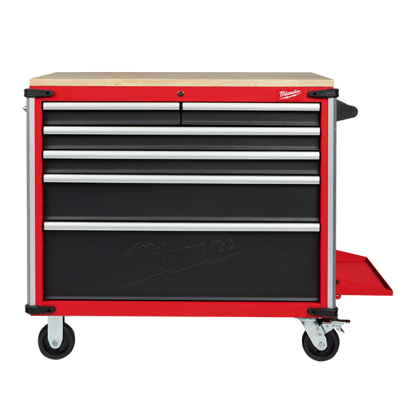 """40"""" Mobile Work Bench Wood Top"""