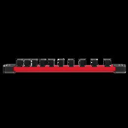 "3/8"" Drive, 10 piece Deep SAE Socket Set with Storage Rail"