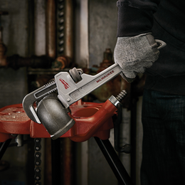 """304mm (12"""") Aluminum Pipe Wrench"""
