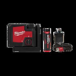 REDLITHIUM™ USB Rechargeable 3 Point Laser Kit