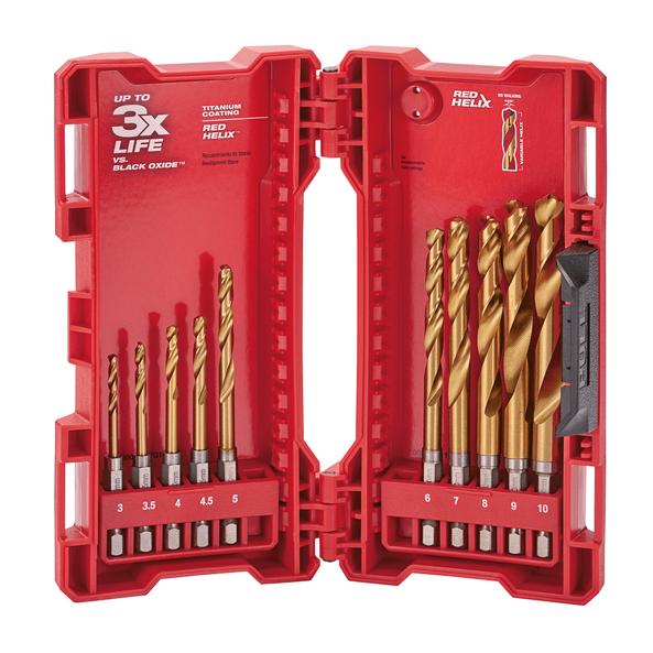 SHOCKWAVE™ Red Helix™ Titanium 10 Pce Kit