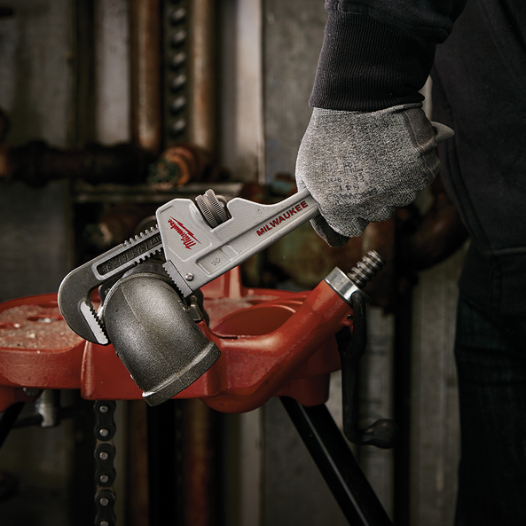 """254mm (10"""") Aluminum Pipe Wrench"""