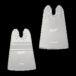 "OPEN-LOK™ 50mm (2"") Rigid & 50mm (2"") Flexible Scraper Variety 2 Pack"