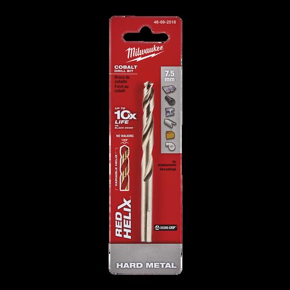 Red Helix™ Cobalt Drill Bit 7.5mm