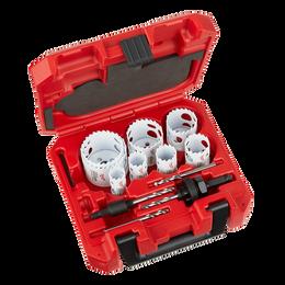 12 PC HOLE DOZER™ With Carbide Teeth Hole Saw Kit