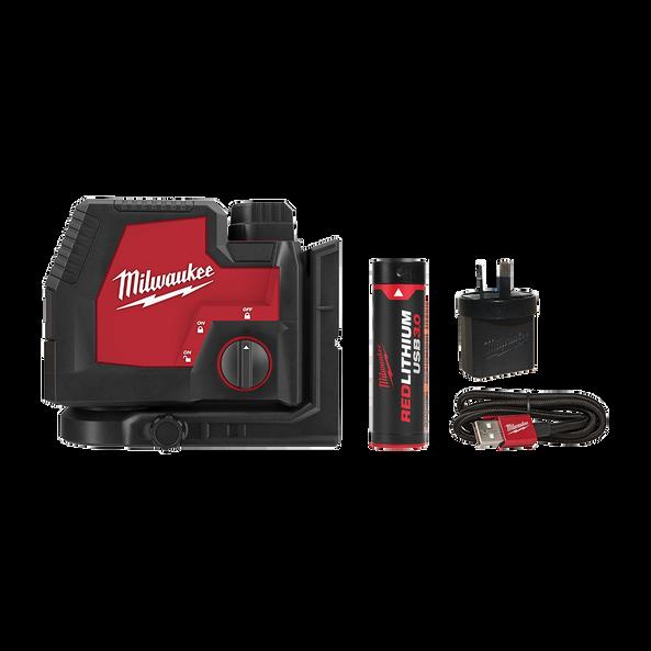 REDLITHIUM™ USB Rechargeable Cross + 2 Plumb Laser Kit, , hi-res