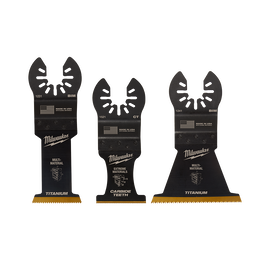 OPEN-LOK™ 3PC Multi Material Multi-Tool Blade Variety Pack