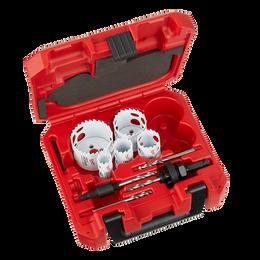 9 PC HOLE DOZER™ With Carbide Teeth Hole Saw Kit
