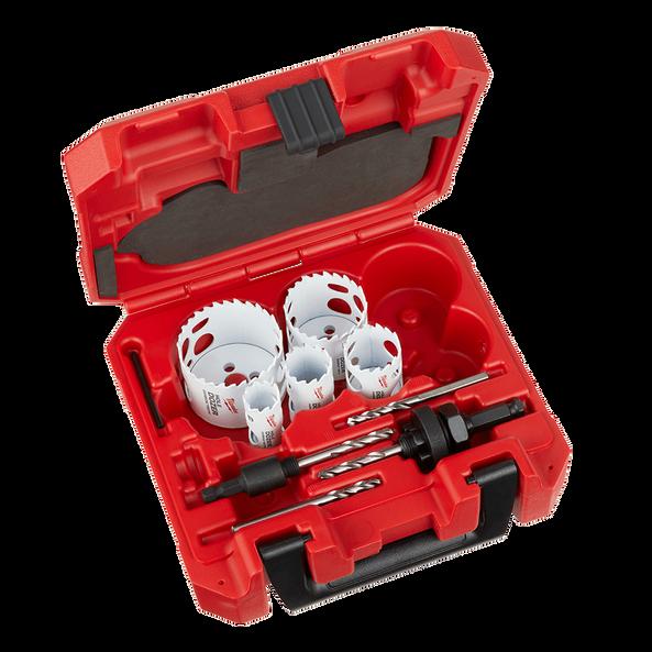9 PC HOLE DOZER™ With Carbide Teeth Hole Saw Kit, , hi-res