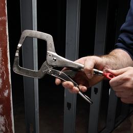 """280mm (11"""") TORQUE LOCK™ Locking C-Clamp Regular Jaws"""
