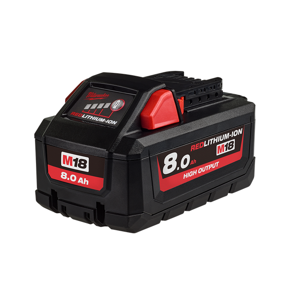 M18™ REDLITHIUM™-ION HIGH OUTPUT 8.0Ah Battery Pack
