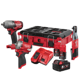 M12 & M18 FUEL™ 3 Piece Power Pack 3G2