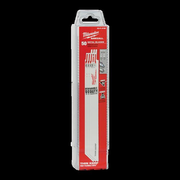 230mm 18 TPI Thin Kerf SAWZALL® Blades (50 Pk)