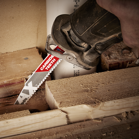 230mm 5TPI The AX™ with Carbide Teeth SAWZALL® Blade