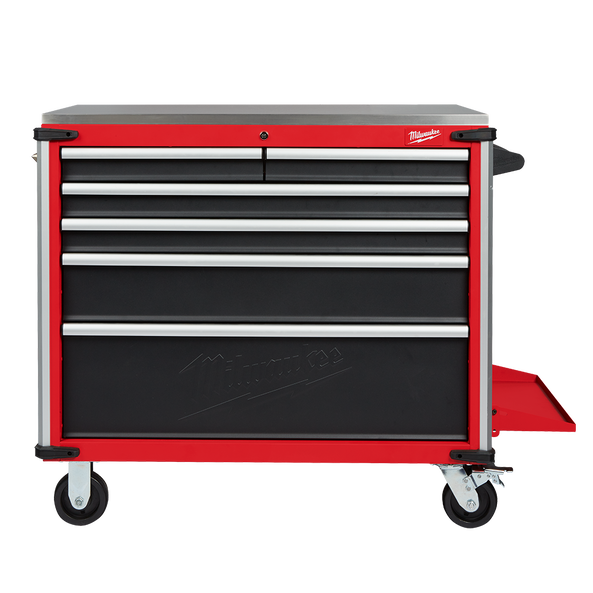"40"" Mobile Work Bench Steel Top"