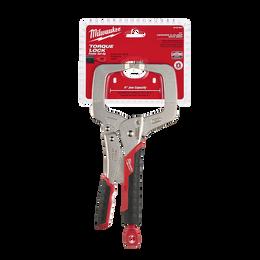 "279mm (11"") TORQUE LOCK™ C-Clamp Locking Pliers Regular Jaws w/ Durable Grip"