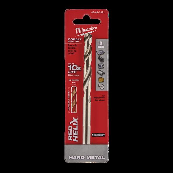 Red Helix™ Cobalt Drill Bit 9mm