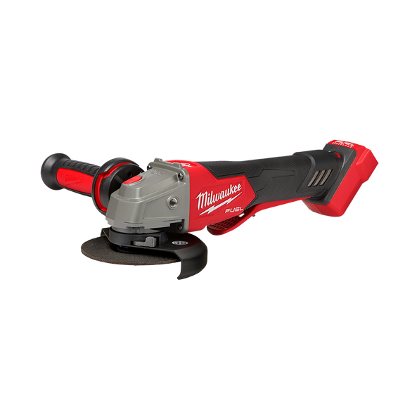 """M18 FUEL™ 125 mm (5"""") Variable Speed Braking Angle Grinder with Deadman Paddle Switch (Tool Only), , hi-res"""