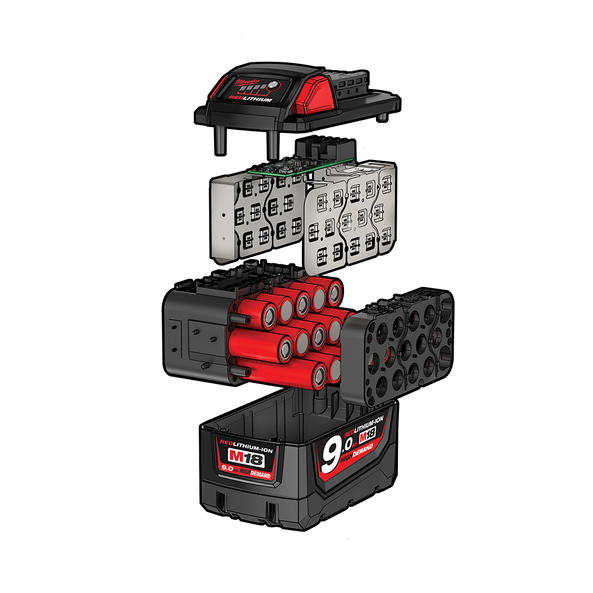 M18™ REDLITHIUM™-ION HIGH DEMAND 9.0Ah Battery Pack