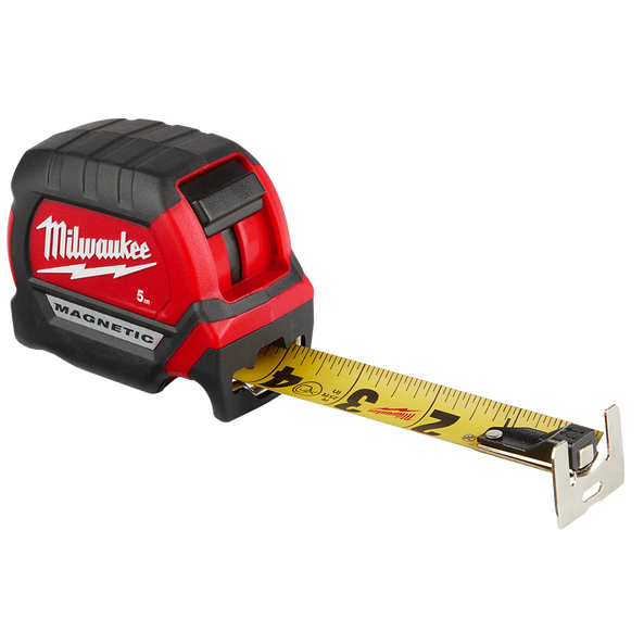 Compact Magnetic Tape Measure 5M