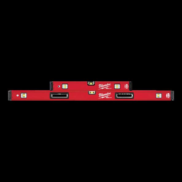 "600mm/1200mm (24""/48"") REDSTICK™ Box Level Set"