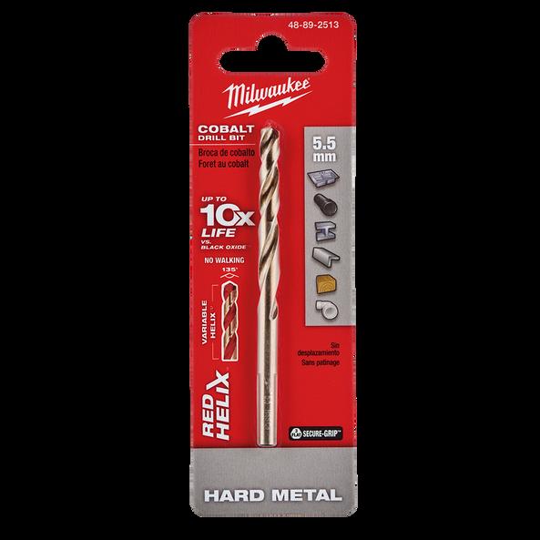 Red Helix™ Cobalt Drill Bit 5.5mm