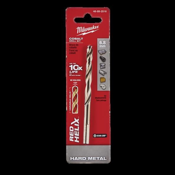 Red Helix™ Cobalt Drill Bit 6.8mm