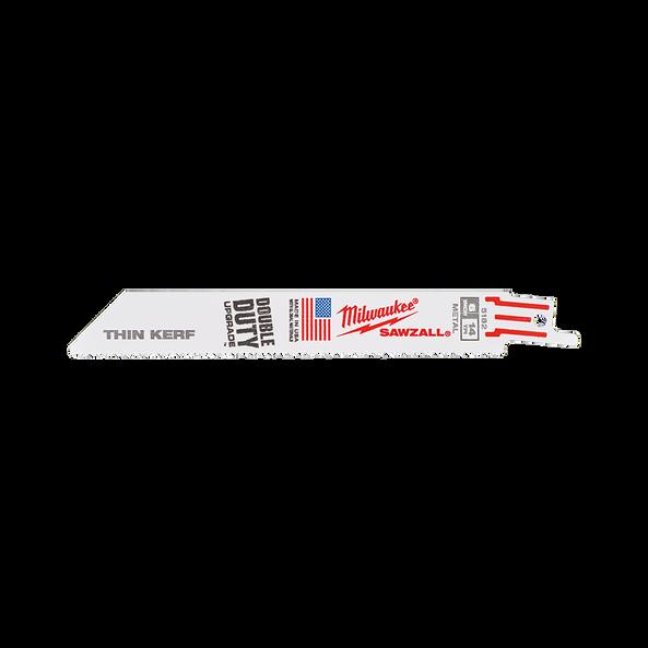 150mm 14 TPI Thin Kerf SAWZALL™ Blades (50 Pk)
