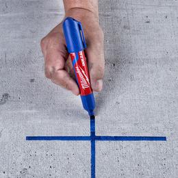 INKZALL™ Blue Large Chisel Tip Marker