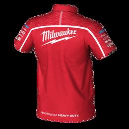 2019 Milwaukee Racing Red Polo Men's