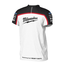 2019 Milwaukee Racing White Tee Men's