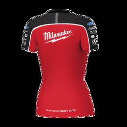2019 Milwaukee Racing Black/ Red Tee Women's