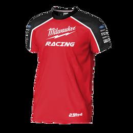 2019 Milwaukee Racing Black/ Red Tee Youth's