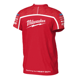 2019 Milwaukee Racing Red Tee Men's